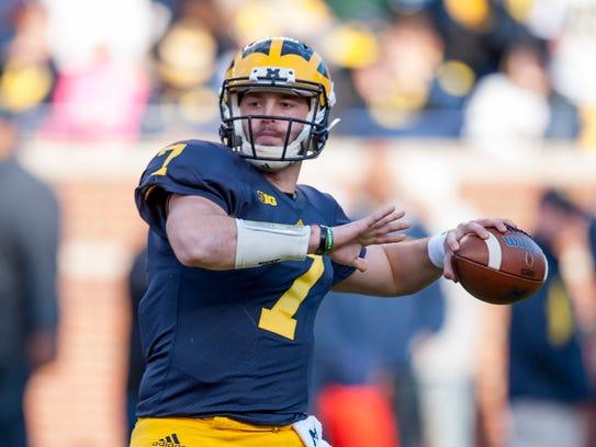 "Shane Morris on his time at Michigan: ""Coach Harbaugh"