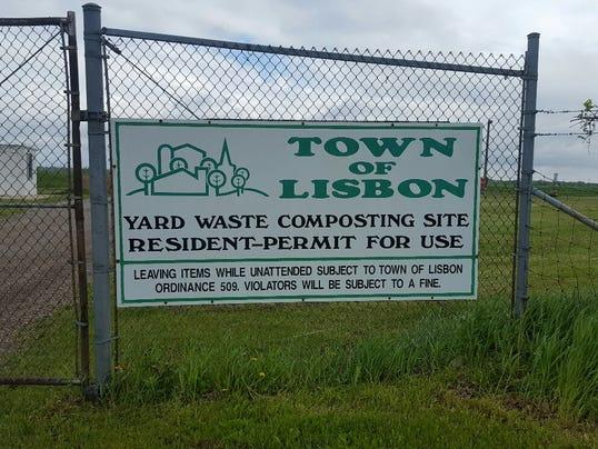 Lisbon compost site