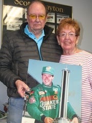 The parents of the late Scott Brayton - Lee and Jeanie