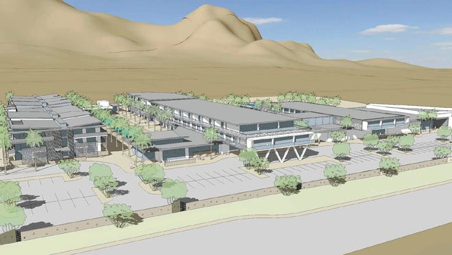 Rendering of the remodeled Mountain Shadows Resort