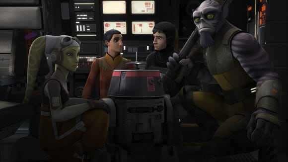 "Check out the early days of the Rebel Alliance with ""Star Wars Rebels."""