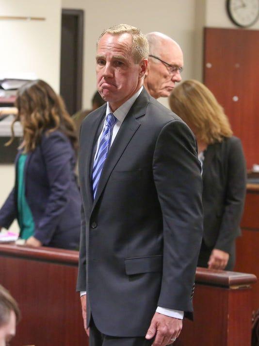 Former Mayor Steve Pougnet in court