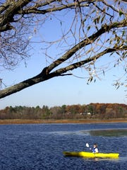 Lake Wausau is treasured for a wide variety of recreational purposes, including kayaking.