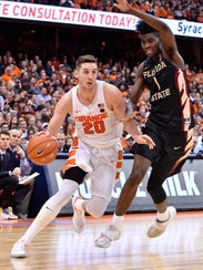 Pine Plains' Tyler Lydon is shown in this Jan. 28 file