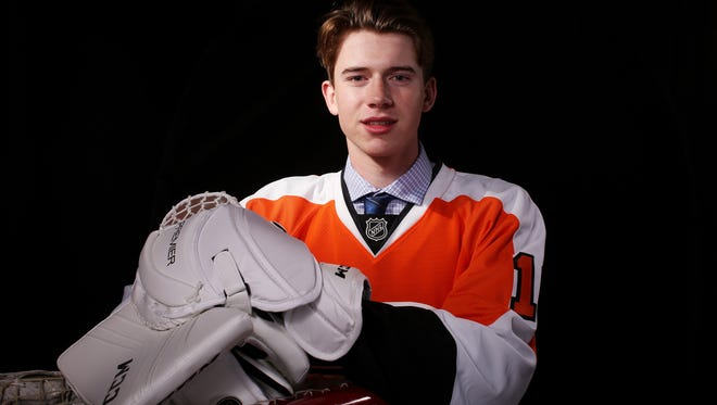 Carter Hart was challenged to be the best goalie in junior hockey and so far he's delivering.