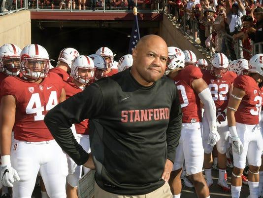 USP NCAA FOOTBALL: SOUTHERN CALIFORNIA AT STANFORD S FBC USA CA