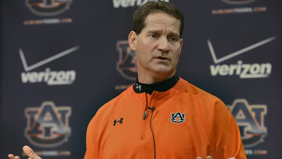 Gene Chizik, who resigned as defensive coordinator