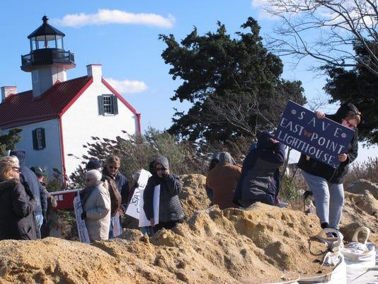 Lighthouses-Sea Level Rise