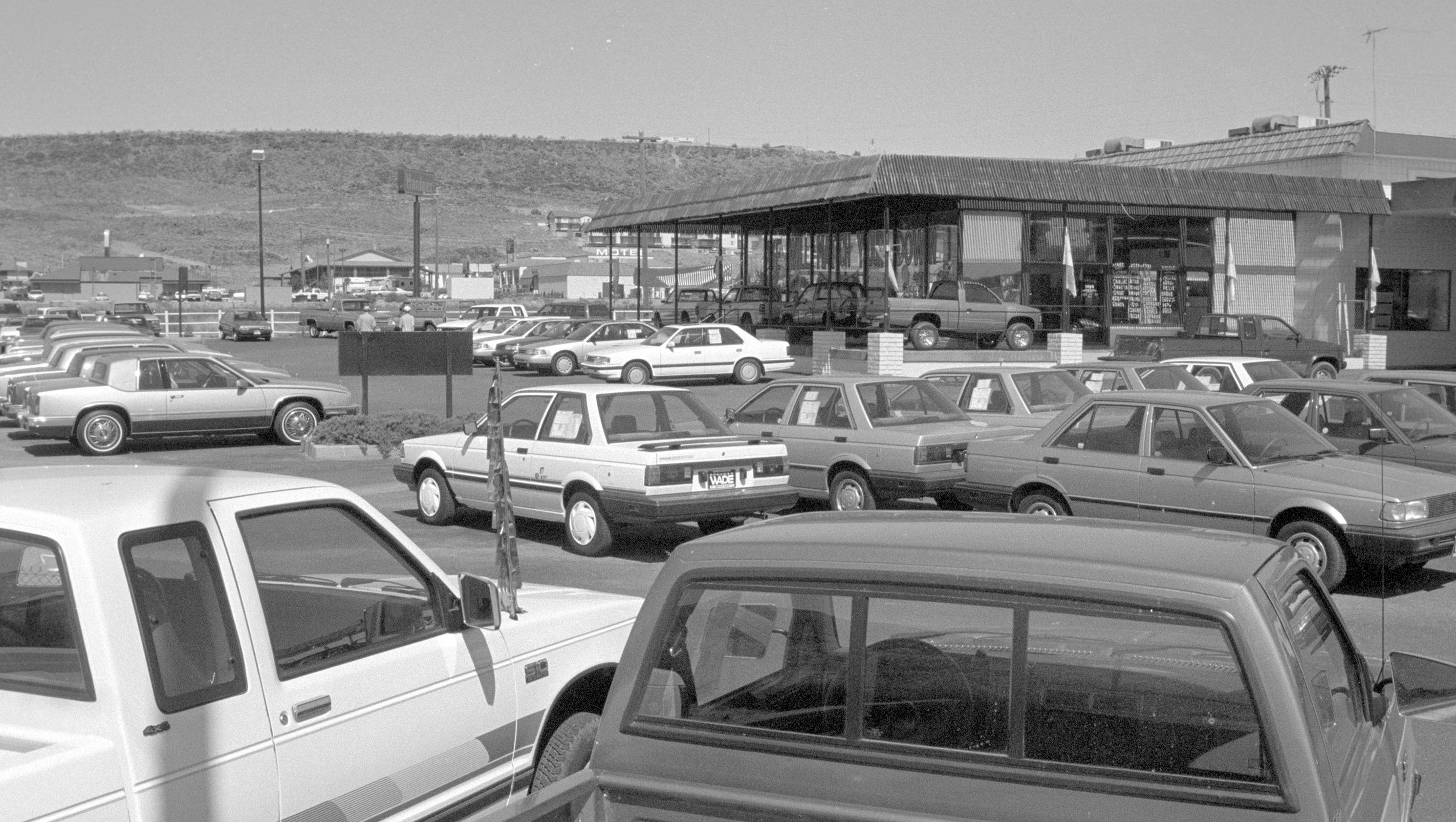 Then And Now Stephen Wade Auto Dealership