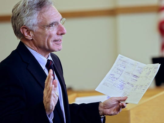 Franklin County Deputy State's Attorney John Lavoie
