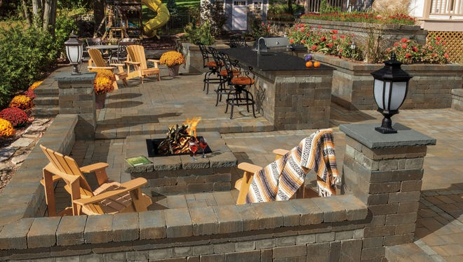 Don't let the perception of designing and building a stylish, fully featured outdoor living room in a single undertaking put your plans on the back burner.