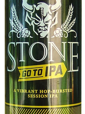 Go To IPA, from Stone Brewing in Escondido, Calif., is 4.8% ABV.