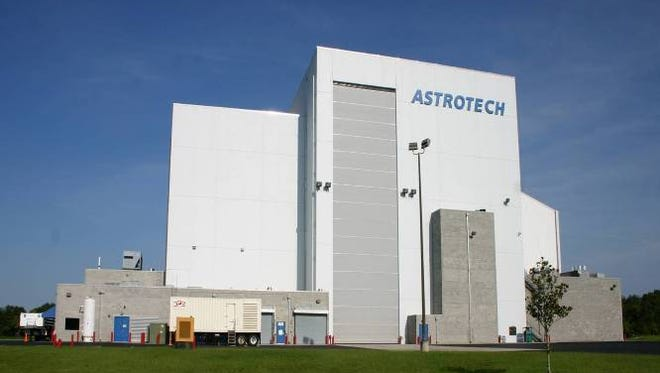 Astrotech Space Operations processing facility in Titusville.