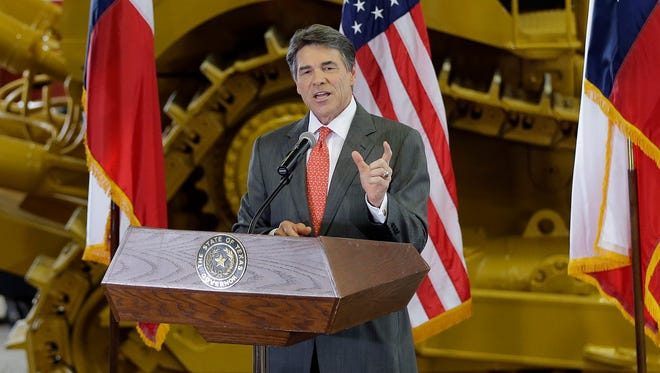 Texas Gov. Rick Perry announced in July that he will not run for re-election in 2014.