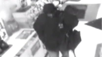 Police say the man shown in this still image from surveillance footage robbed the Quick Stop store in Collingswood on Nov. 30.