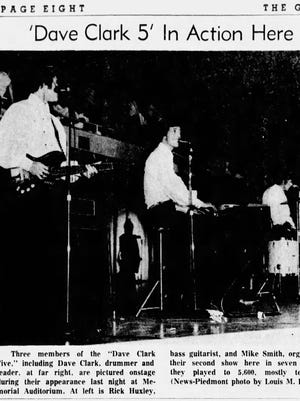 A photo in The Greenville News on July 23, 1966.