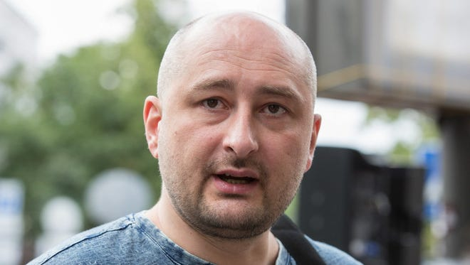 Russian opposition journalist Arkady Babchenko, 41, was scathingly critical of the Kremlin's policies.