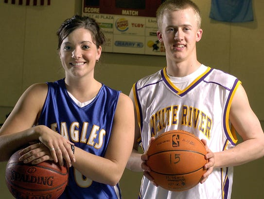 Mitchell Christian's Jill Young and White River's Louie