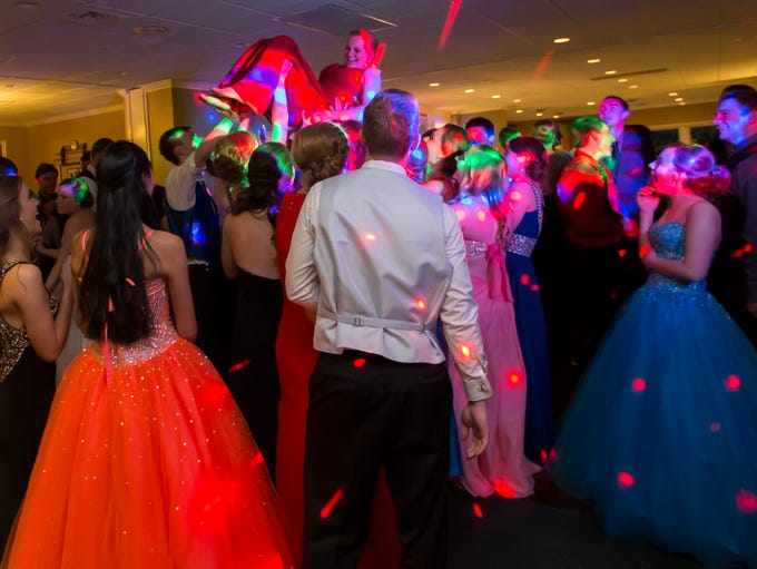 Lourdes Academy students celebrate their Prom dance
