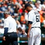 Tigers notes: Shane Greene working on finding consistency on the mound