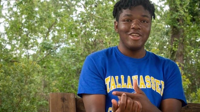 Lavarian Ouma has spent portions of the last four years living in a group home sponsored by St. Augustine Youth Services. Ouma, who turned 18 on June 10, said he is looking forward to adulthood and the ability and freedom to make his own decisions. He will enroll in Tallahassee Community College this fall with plans to study nursing.