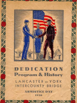 Armistice Day was remembered on Nov. 11, 1930 with the dedication of the Lancaster-York Intercounty Veterans Memorial Bridge over the Susquehanna River.