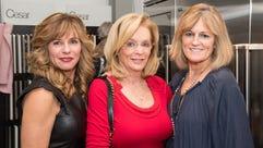 Pamela DeBlasio, Lindsay Hakim and Maureen Valenti