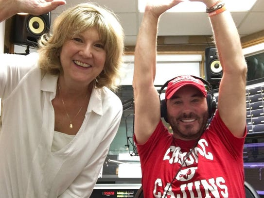 Together nearly 20 years on 99.9 KTDY, CJ and Debbie