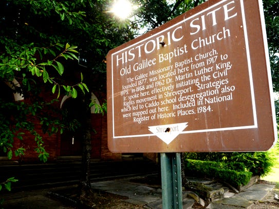 The Old Galilee Baptist Church is a historic site where