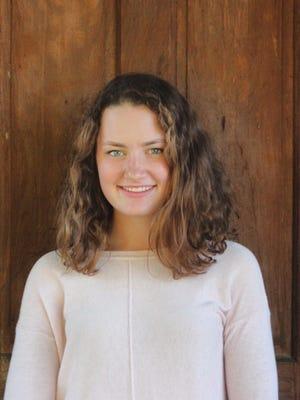 Greta Joos, a student at Champlain Valley Union High School.
