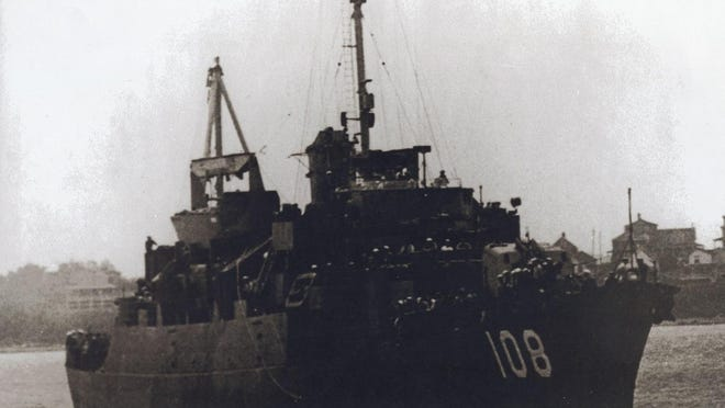The USS Harry Corl was named in honor of Harry Corl, who was shot down in an aerial battle during WWII. The Monroe County man was one of many veterans written about by David L. Eby.