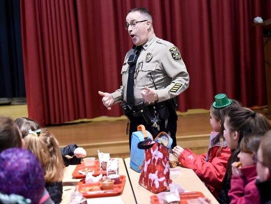 Northern York County Regional Police Officer Mark Allen