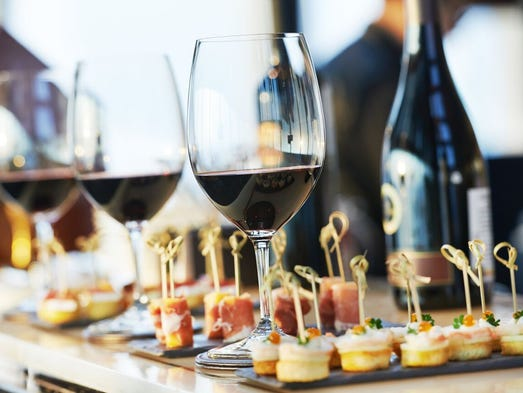 Enjoy fine wine and delicious food pairings for a good