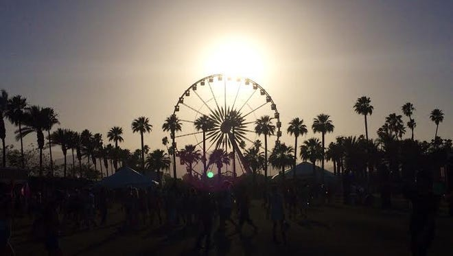 The vibe at the Empire Polo Club was mellow  on Sunday, as Weekend 1 of the Coachella Music Festival drew to a close.