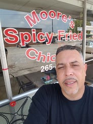 David Moore, owner of Moore's Famous Fried Chicken