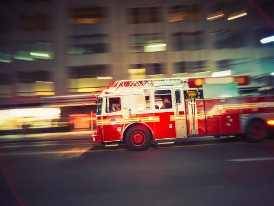 istock fire truck
