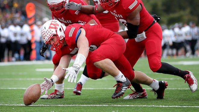 Wabash College, shown here during the Monon Bell, prevailed over Franklin College on Saturday.