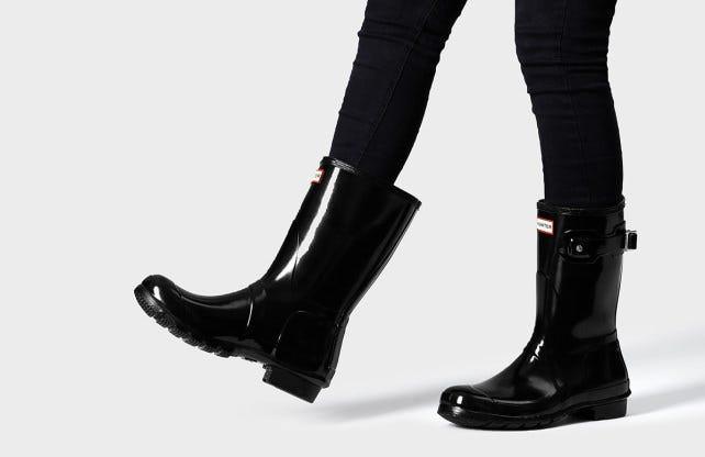 Hunter boots deliveries