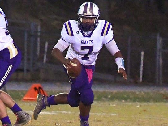 Waynesboro, led by quarterback DaJuan Moore, has wrapped up a fourth straight playoff berth.