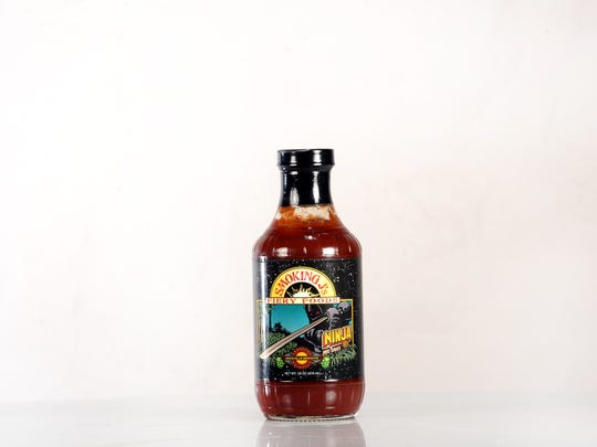 Smoking J's Ninja Porter sauce is made with Asheville