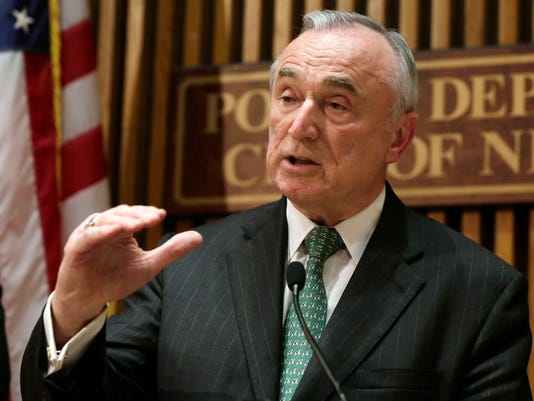 AP NYC POLICE COMMISSIONER A FILE USA NY