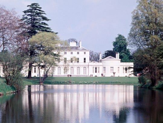 Frogmore House, in Windsor, is the location for the