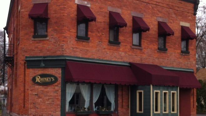 Rooney's Restaurant is at 90 Henrietta St.