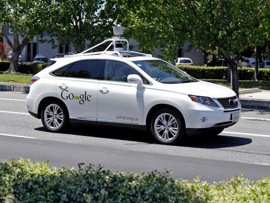 Driverless Cars-Accidents