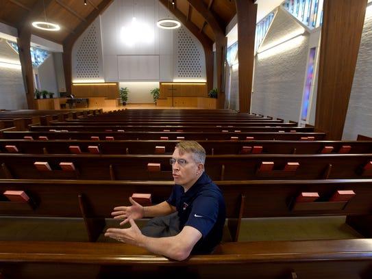 Paul Fullmer, Lebanon Valley College's chaplain of