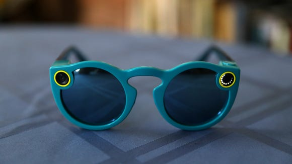 Snapchat's new Spectacles video sunglasses sell for