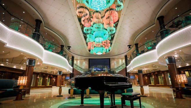 Norwegian Cruise Line's 2,402-passenger Norwegian Jade received a major makeover in dry dock in March 2017 that included an overhaul of many of the ship's public areas.