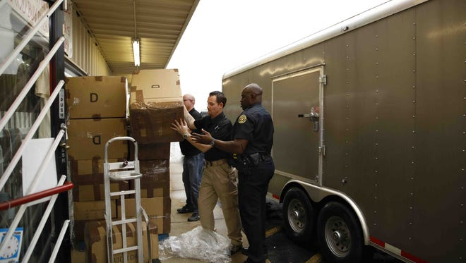 More than $1.5 million in counterfeit goods were recovered in Clarksville on April 18, 2017.