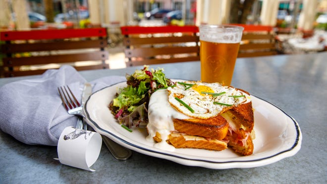 Croque madame is part of the new item menu at The French.