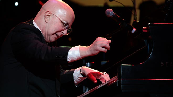 Paul Shaffer plays the songs of Blood, Sweat & Tears during a tribute to Lew Soloff, who was the trumpeter in the band. Shaffer is a longtime friend of Soloff.